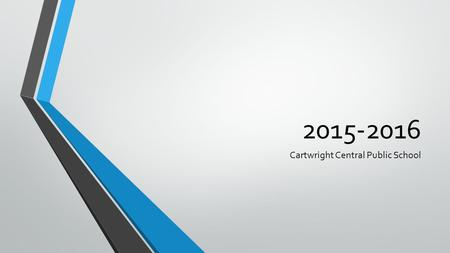 2015-2016 Cartwright Central Public School. Needs Assessment Sources: 2014 Grade 3, 6 EQAO 2015 Report Card Data.