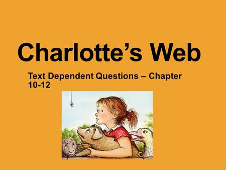 Text Dependent Questions – Chapter 10-12