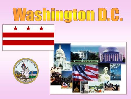 Washington, D.C., United State's capital. The city stands on the Potomac river and bordered by the state of Maryland to the north and Virginia to the.