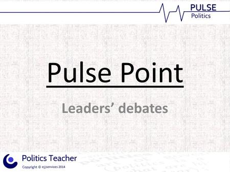 Pulse Point Leaders' debates. Initial reports following the recent debates on EU membership between Deputy Prime Minister and Liberal Democrat leader.
