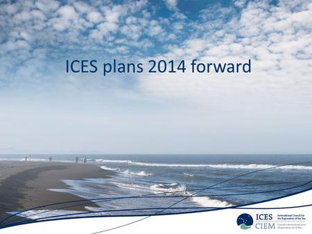 ICES plans 2014 forward. ICES work 2014 Recurrent TAC advice – Sandeel 28/2 – NS main package 30/6 – Rays and skates 30/9 Data limited stocks – DLS categories.
