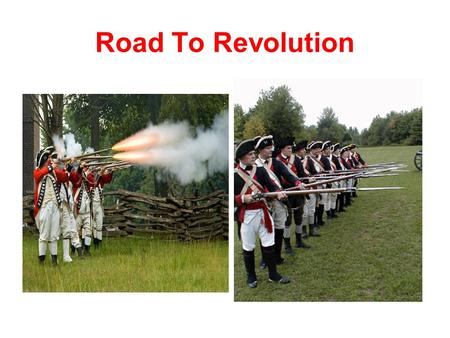 "Road To Revolution. World Powers Collide Britain + France at war for control of ""New World"" 1607-1763 American Colonies are allowed to rule themselves."