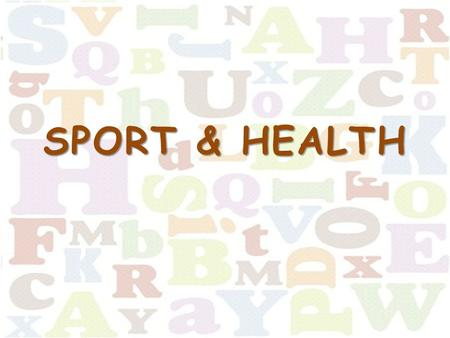 SPORT & HEALTH. Choose the task 1111 2222 3333 4444 5555 6666 7777 8888 9999 10 11 12.