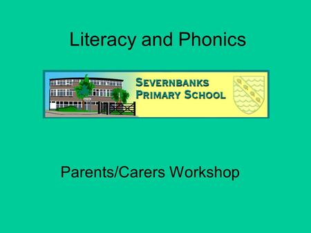 Literacy and Phonics Parents/Carers Workshop. Literacy? English? New Curriculum for Year 1 – 6 from September 2014. Spoken Language Reading WORD READING.