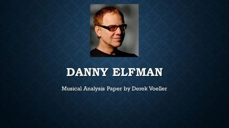 Musical Analysis Paper by Derek Voeller