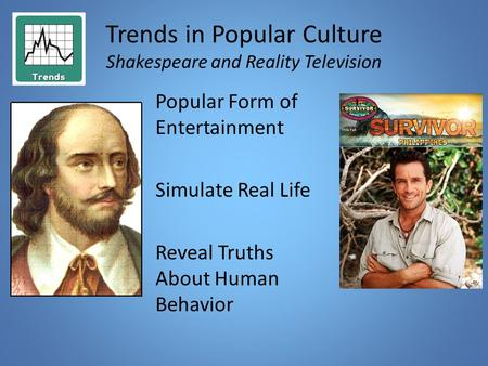 thesis statement about reality television The thesis statement is typically located at the end of your revise the question into a thesis: violence on television increases aggressive behavior in.