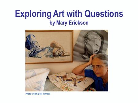 Exploring Art with Questions