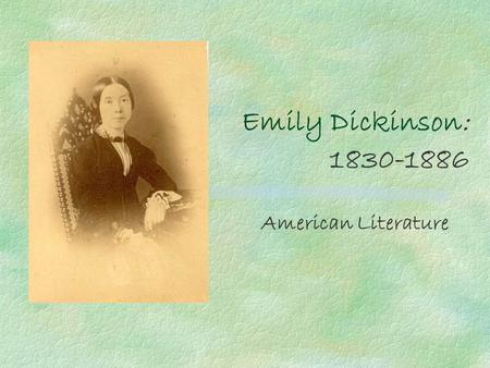 thesis statements on emily dickinson Suggested essay topics and study questions for 's emily dickinson perfect for students who have to write emily dickinson essays.