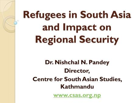 Asian research centre for migration