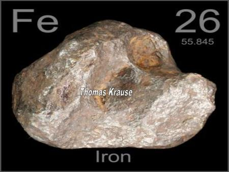 There is no real facts on who discovered iron but it was believed to have been first discovered by the Egyptians in 4000 B.C. The widespread use of this.