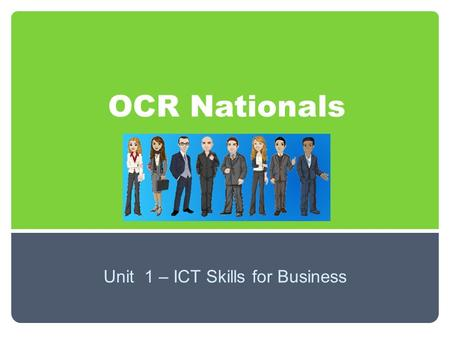 OCR Nationals Unit 1 – ICT Skills for Business. Using email in business What bad practice can you see in this email? Annotate your copy.