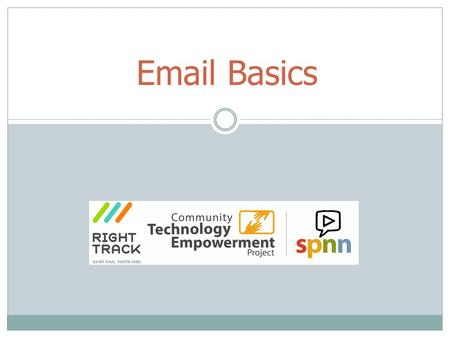 "Email Basics. Email Stands for ""electronic mail"" Digital message sent over the internet Primarily text but can include pictures, sound and attachments."