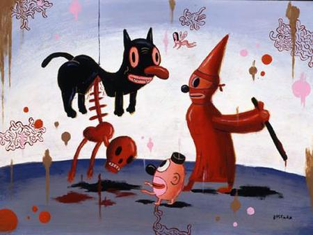Gary Baseman (born 1960) is a contemporary artist who works in various creative fields, including illustration, fine art, toy design, and animation. He.