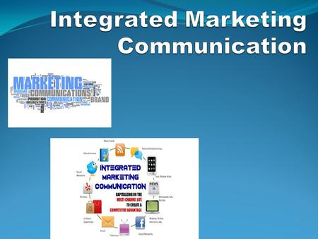 "Marketing communication are messages and related media used to communicate with the market. Marketing communication is the ""promotion"" part of the marketing."