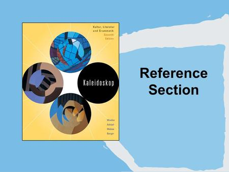 Reference Section. Copyright © Houghton Mifflin Company. All rights reserved.R | 2 1. Personal pronouns.