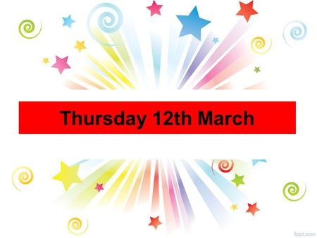 Thursday 12th March. All Year Groups Positive Wellbeing Group The Positive Wellbeing group will meet every Thursday in Maths Room lunchtime. CONGRATULATIONS.
