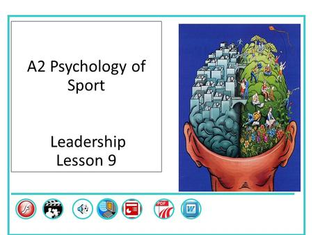 A2 Psychology of Sport Leadership Lesson 9 Skills.