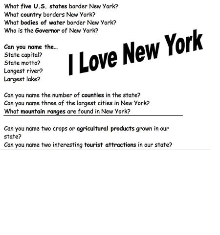 Our New York Story There are many types of maps.. There are two main types...