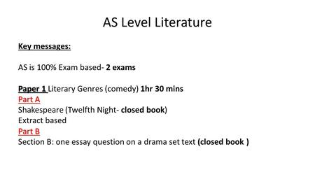 as level english literature coursework word limit Revision home