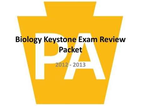 Biology Keystone Exam Review Packet 2012 - 2013. 1.Which characteristic is shared by all prokaryotes and eukaryotes? A.Ability to store hereditary information.