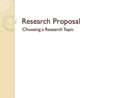 research proposal topics in education The aera trending research topics page highlights published research from aera peer-reviewed journals on major education topics currently making headlines.
