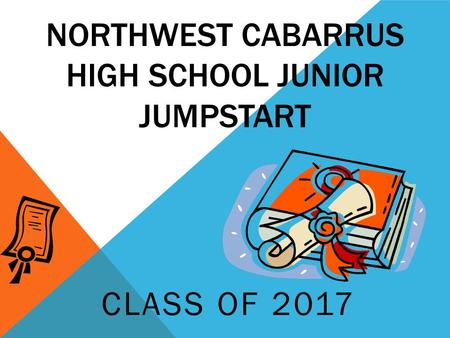 NORTHWEST CABARRUS HIGH SCHOOL JUNIOR JUMPSTART CLASS OF 2017.