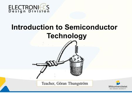 INTRODUCTION SEMICONDUCTOR AN TO DEVICES
