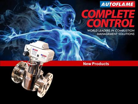 New Product Developments World Leaders in Combustion Management Solutions New Products www.autoflame.com New Products.
