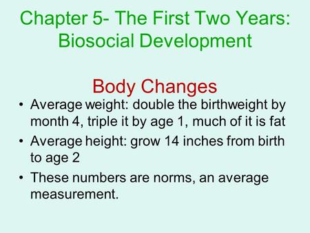 biosocial development This site supports the psychology courses taught by mr gates.