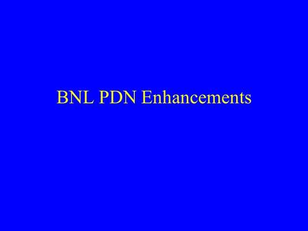 BNL PDN Enhancements. Perimeter Load Balancers Scaleable Performance Fault Tolerance Server Maintainability User Convenience Perimeter Security.