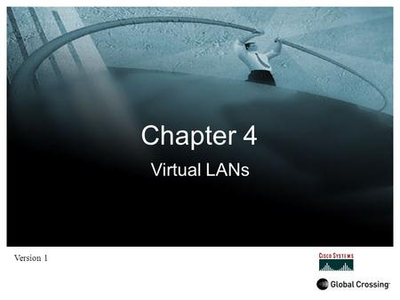 Chapter 4 Version 1 Virtual LANs. Introduction By default, switches forward broadcasts, this means that all segments connected to a switch are in one.