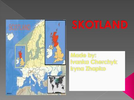  Scotland comes from Scoti, the Latin name for the Gaels. The Late Latin word Scotia (land of the Gaels) was initially used to refer to Ireland.