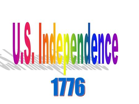 US INDEPENDENCE DAY 1.What do you know about this holiday? 2.When is it? 3.Why do Americans celebrate this date? 4.What do people do on this day? 5.Where.