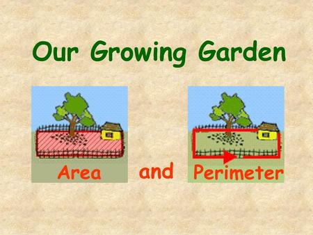 Our Growing Garden and Area Perimeter. We can plant a garden.