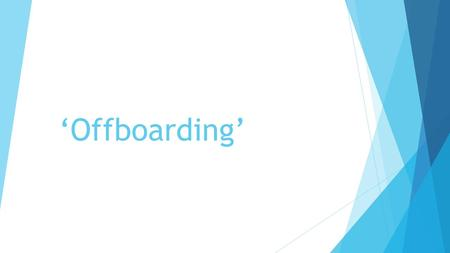 'Offboarding'. Create a new word The fast moving word association game  Form equally sized teams  Create a new letter  What does it look like – lower.