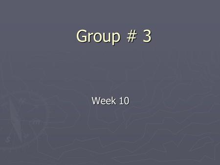 Group # 3 Week 10. Progress so far ► Writing the progress report. ► Writing and edit code to send and receive SMS messages ► Writing code in VB to interprets.