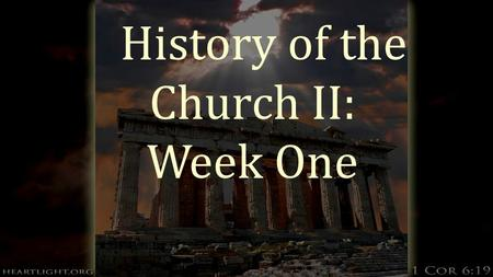 "History of the Church II: Week One. ""A Wild Boar""  In June of 1520, a papal bull was issued by Pope Leo X condemning Martin Luther and giving him 60."