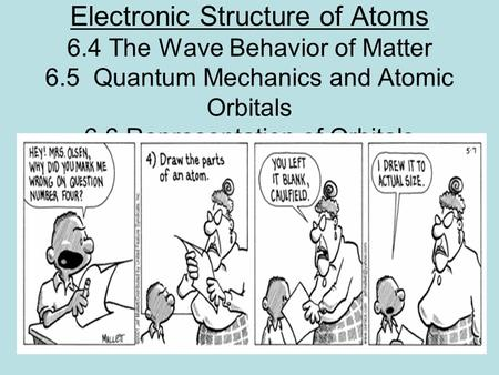 electronic structure of atoms pdf