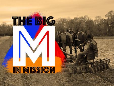 """M"" is for Mobilisation 1. I'm too busy… for this Mission."