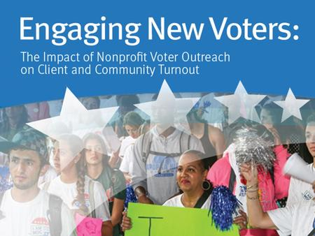 ABOUT US About Us Founded in 2005, Nonprofit VOTE partners with America's nonprofits to help the people they serve participate and vote. We are a leading.