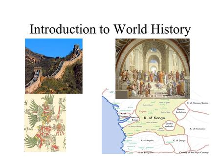 Introduction to World History. HM: The Problem of Evidence Primary Secondary Tertiary Bias.