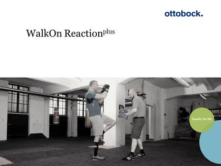 WalkOn Reactionplus.