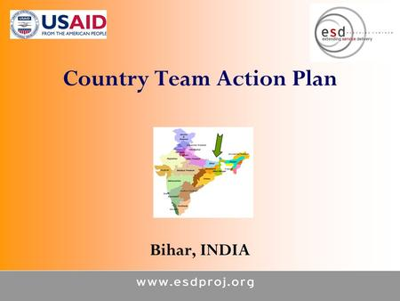 Country Team Action Plan Bihar, INDIA. Tracks 1 & 2 2 Where are we now? Current levels of accomplishment/Progress and challenges since Bangkok 2007 Health.