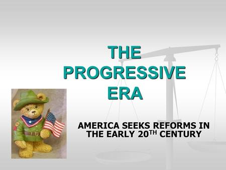 new deal progressive era Federal government growth before the new deal in fact, the 1920s continued the growth that began in the progressive era and set the stage for the new deal before.