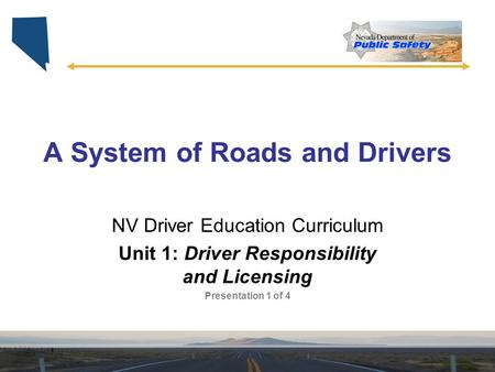 A System of Roads and Drivers