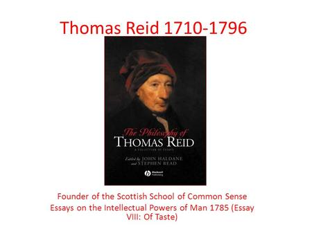 essays on the intellectual powers of man (thomas reid, essays on the intellectual powers of man, 1786) human  resources are involved in various activities at blue river retail including  recruitment.