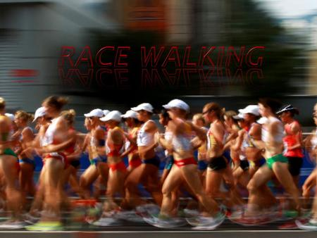 Race walking is a form of walking which is one of the most difficult Olympic sports.