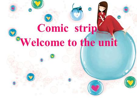 Comic strip Welcome to the unit.