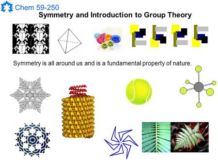 Symmetry and Introduction to Group Theory