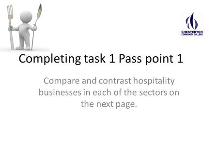 Completing task 1 Pass point 1